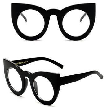 Okulary MIAU czarne z filtrem UV